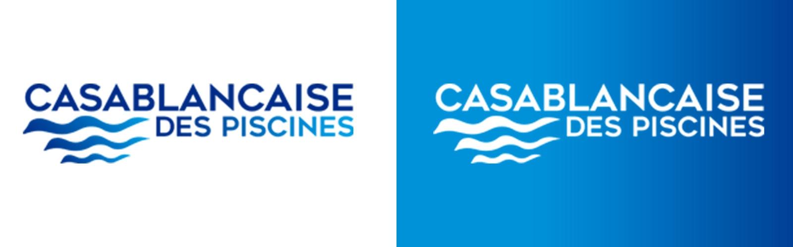 Création de Logo Casablancaise des Piscines