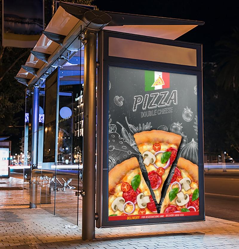 Conception des affiches publicitaires Casablanca